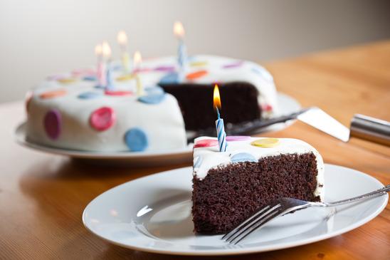 Födelsedags tårta